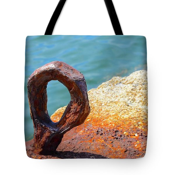 Tote Bag featuring the photograph Bolted by Corinne Rhode