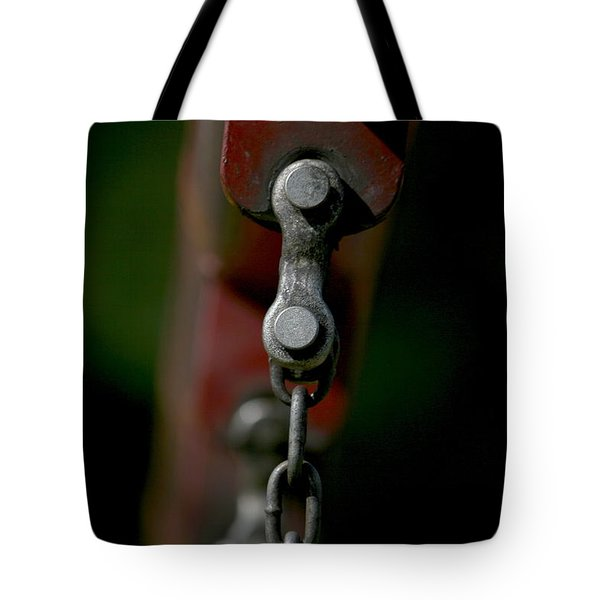 Tote Bag featuring the photograph Bolts by Cathy Harper
