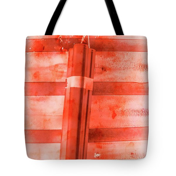 Bomb Of The Betrayal Tote Bag