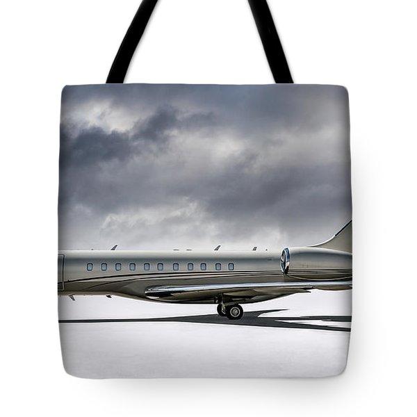 Bombardier Global 5000 Tote Bag