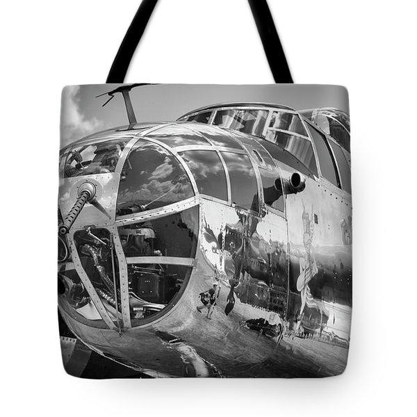 Bomber's Eye View Tote Bag