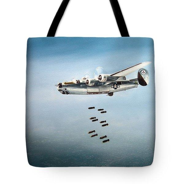 Bombs Away Tote Bag by Marc Stewart
