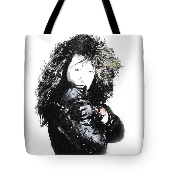 Bon Jovi Tote Bag by Gina Dsgn