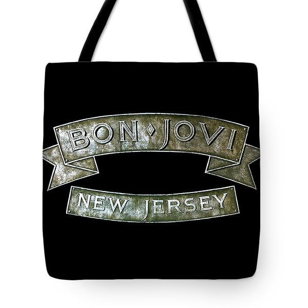 Bon Jovi New Jersey Tote Bag