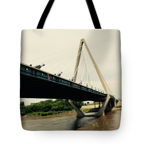 Bond Bridge  Kansas City Missouri Tote Bag