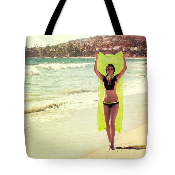 Bond Girl Laguna Beach Tote Bag