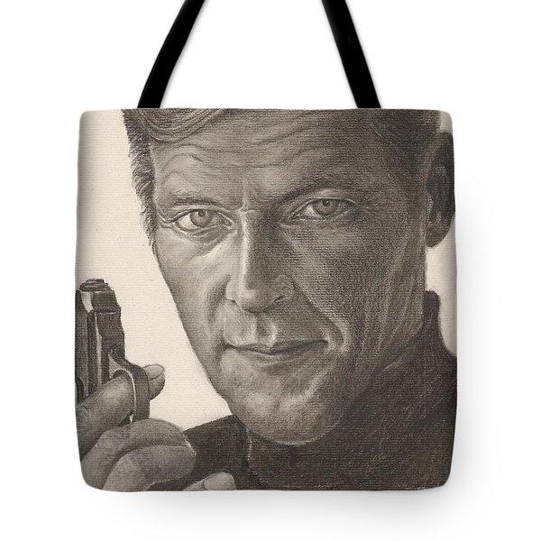 Bond Portrait Tote Bag
