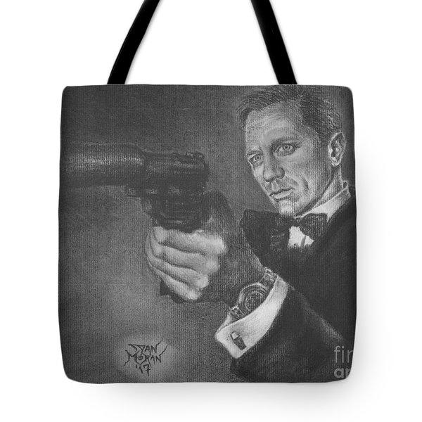 Bond Portrait Number 3 Tote Bag