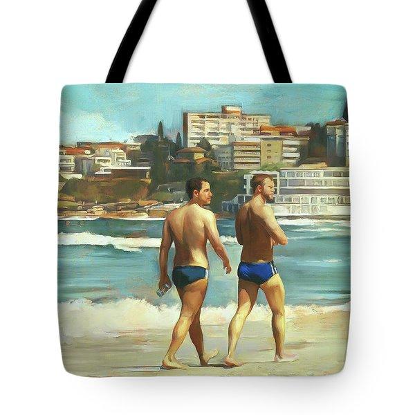Bondi Beach Boys Tote Bag