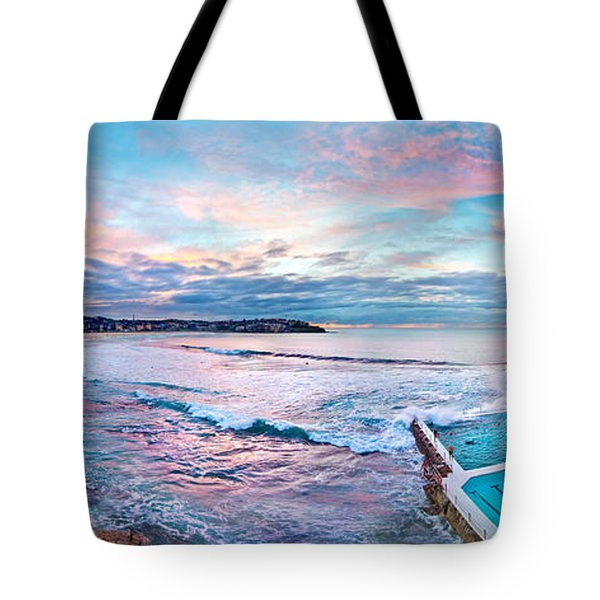 Bondi Beach Icebergs Tote Bag