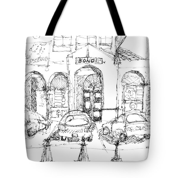 Bondi Beach Pavillion Tote Bag