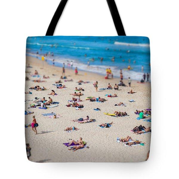Bondi People Tote Bag