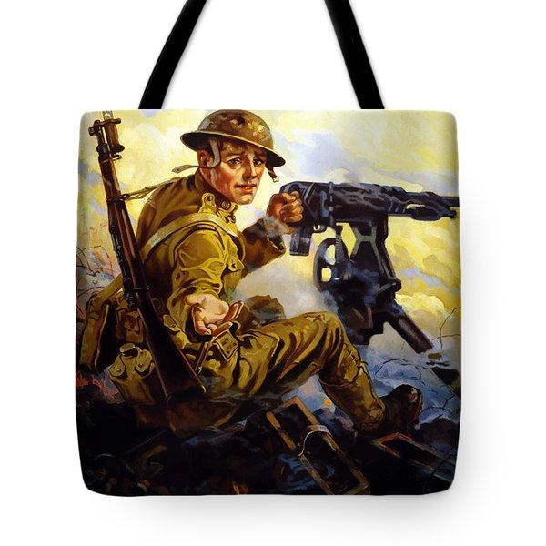 Ammunition  - Bonds Buy Bullets Tote Bag