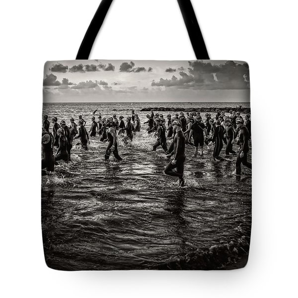 Bone Island Triathletes Tote Bag