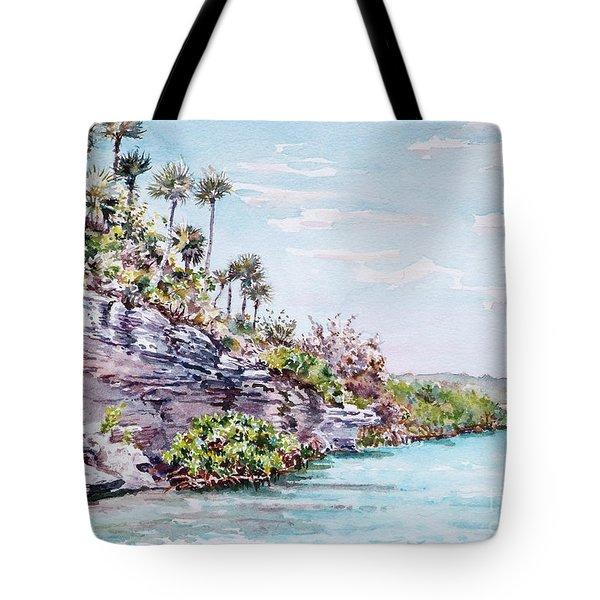 Bonefish Creek Watercolour Study Tote Bag