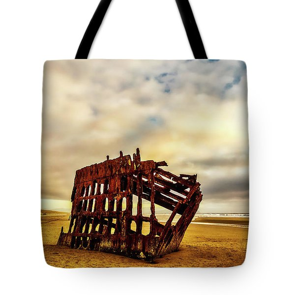 Bones Of A Shipwreck Tote Bag