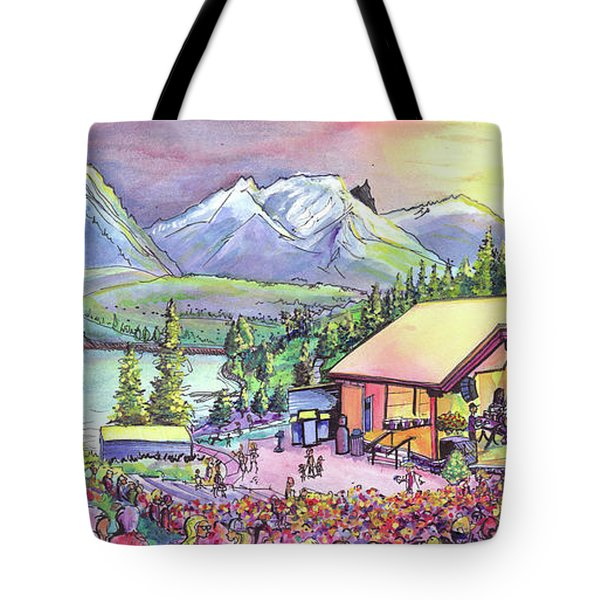 Bonfire Dub Tote Bag by David Sockrider