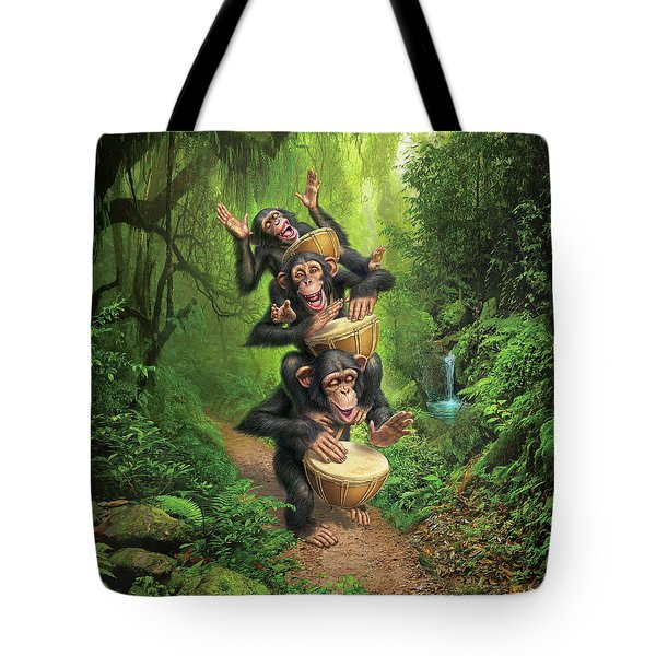 Bongo In The Jungle Tote Bag