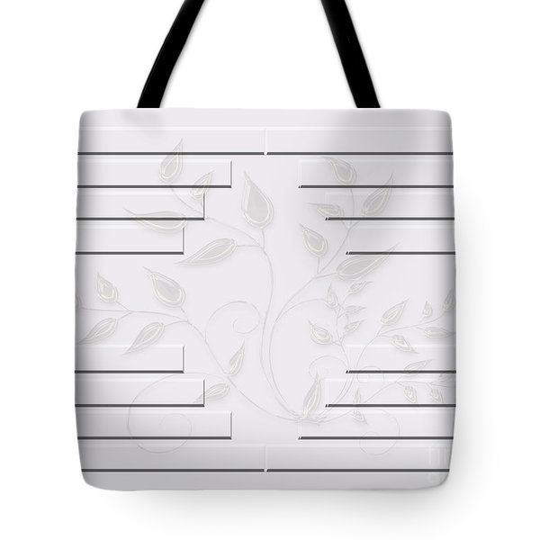 Bonjour Leaves Mass Tote Bag