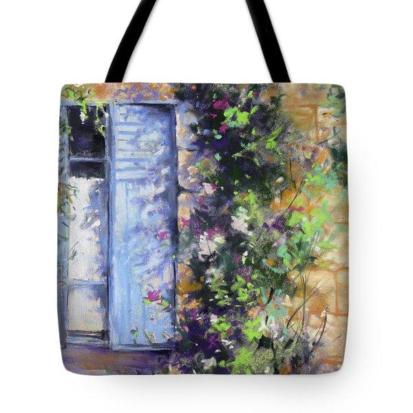Bonjour Tote Bag by Rae Andrews