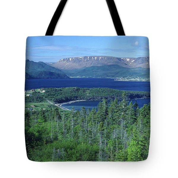 Bonne Bay, Newfoundland Tote Bag