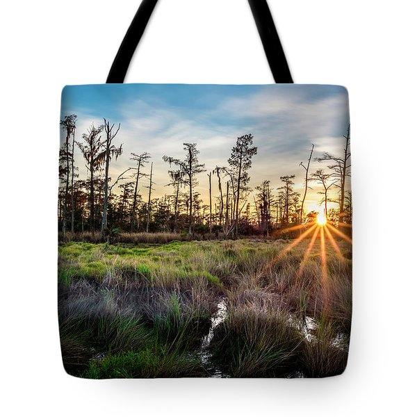 Bonnet Carre Sunset Tote Bag
