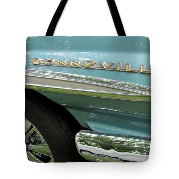 Bonneville Tote Bag by Anita Burgermeister