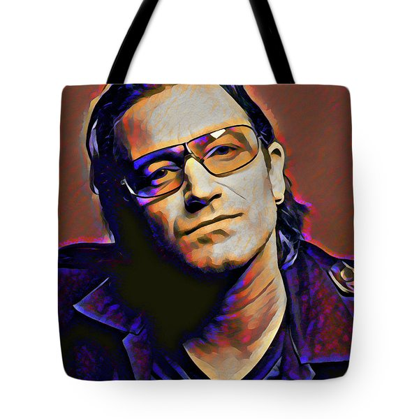 Bono Tote Bag by Gary Grayson