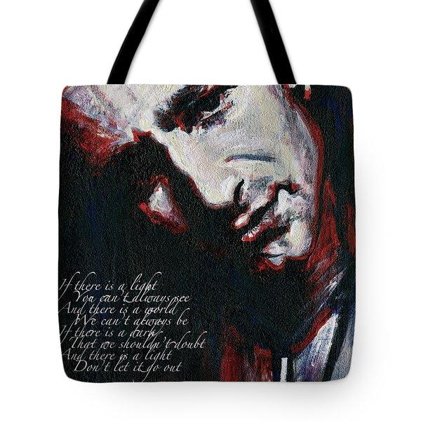 Bono - Man Behind The Songs Of Innocence Tote Bag