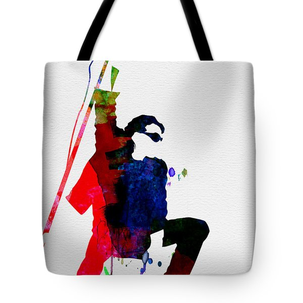 Bono Watercolor Tote Bag by Naxart Studio