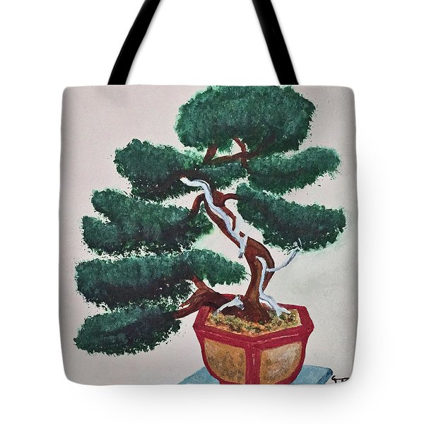 Bonsai #3 Tote Bag