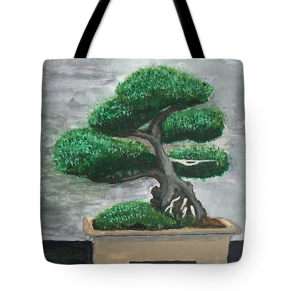 Bonsai #2 Tote Bag