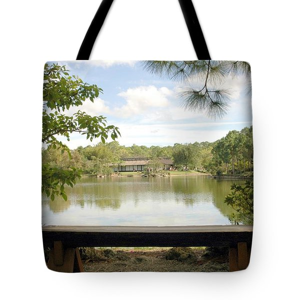 Bonsai Lake Tote Bag