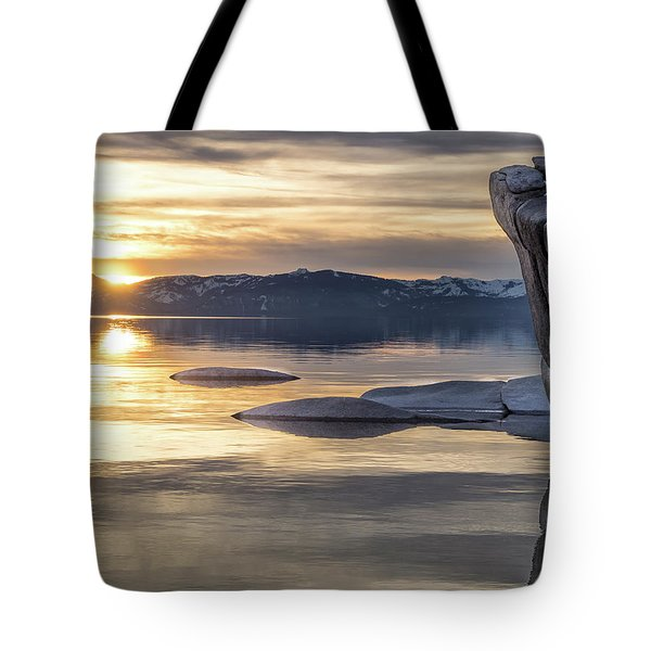 Bonsai Sunset Tote Bag