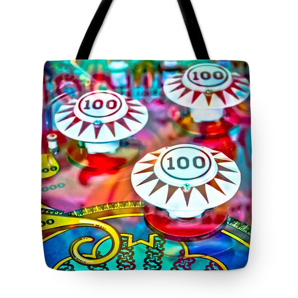 Bonus Points - Pinball Tote Bag