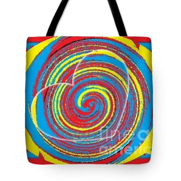 Tote Bag featuring the painting Boo Hearted by Catherine Lott