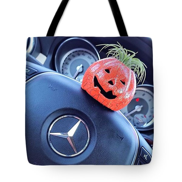 #boo! My #car Is Getting Excited About Tote Bag