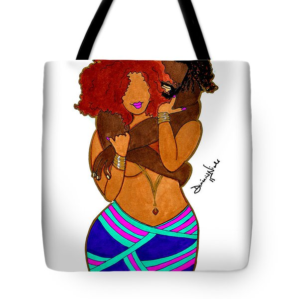 Boo Thang Tote Bag by Diamin Nicole