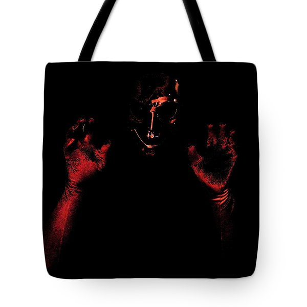 Tote Bag featuring the photograph Boo by W And F Kreations