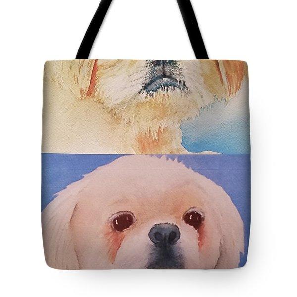 Booboo Baxter V Tote Bag
