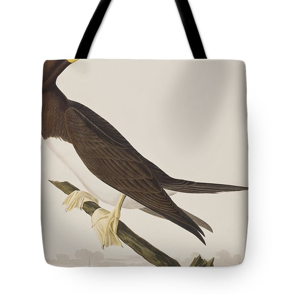 Booby Gannet   Tote Bag by John James Audubon