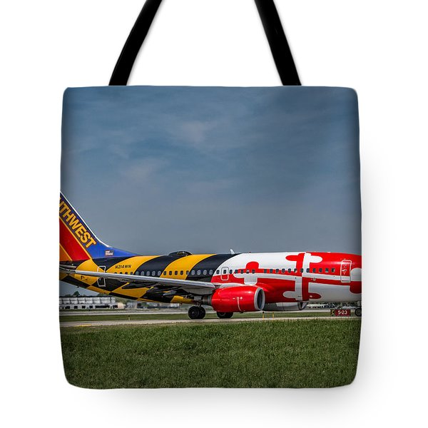 Boeing 737 Maryland Tote Bag