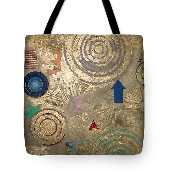 Boogie 3 Tote Bag by Bernard Goodman