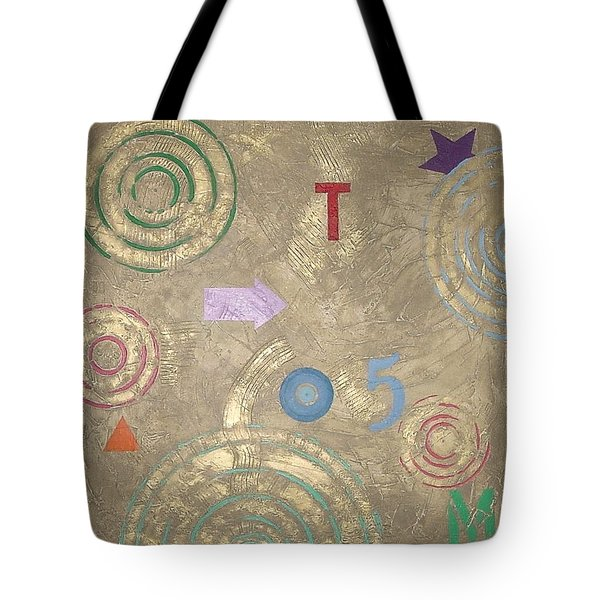 Boogie 5 Tote Bag by Bernard Goodman