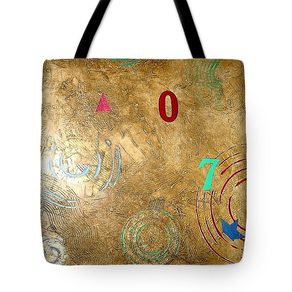 Boogie 7 Tote Bag by Bernard Goodman
