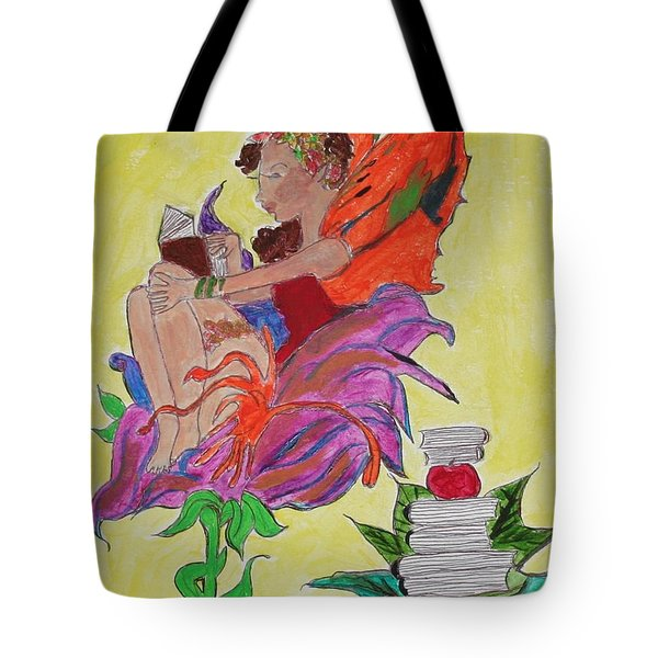 Book Fairy Tote Bag