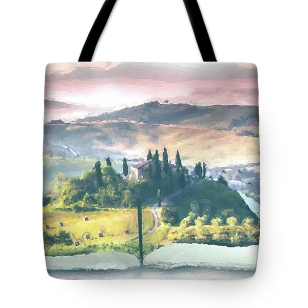 Tote Bag featuring the painting Book Life by Harry Warrick