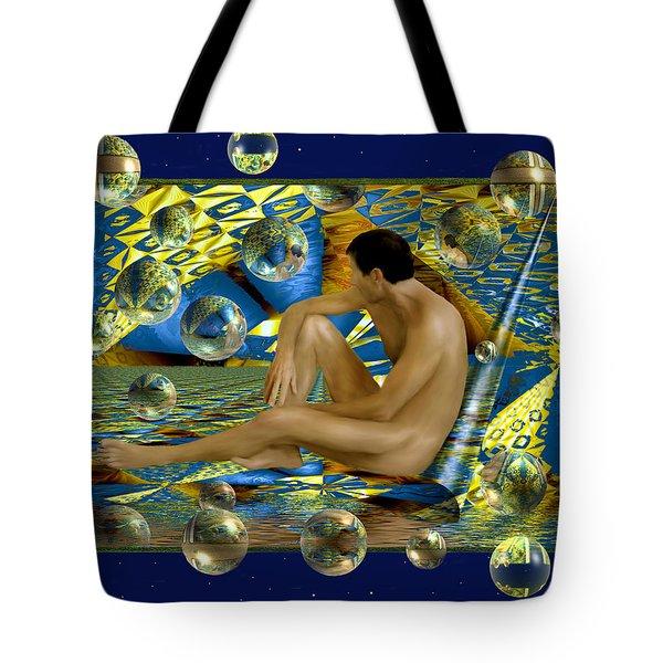 Book Of Dreams Tote Bag by Kurt Van Wagner