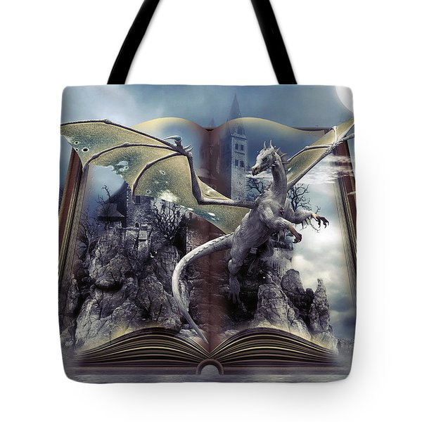 Book Of Fantasies Tote Bag by G Berry