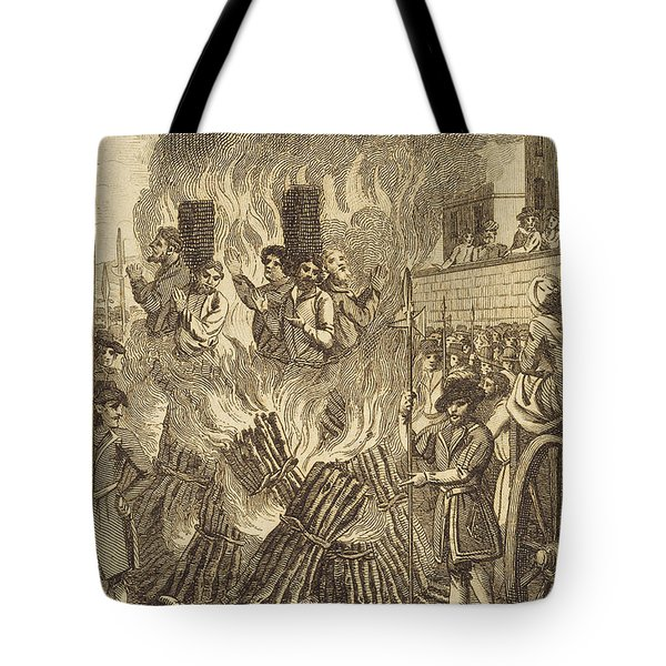 Book Of Martyrs, 1563 Tote Bag by Granger